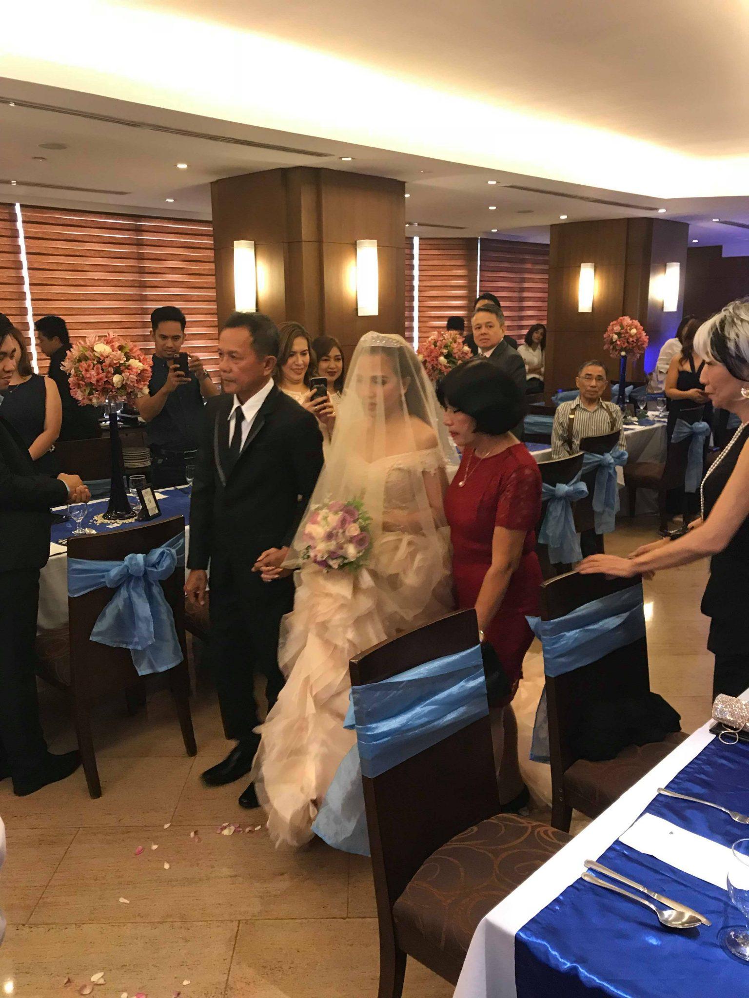 フィリピンの結婚式